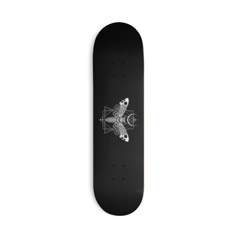 Surreal Death Moth Accessories Skateboard by von Kowen's Shop