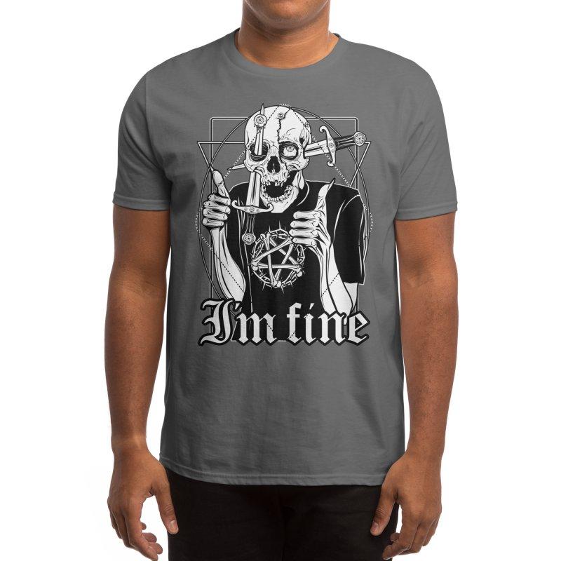 I'm fine Men's T-Shirt by von Kowen's Shop