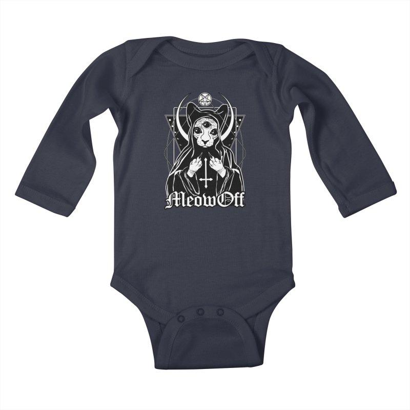 Meow off Kids Baby Longsleeve Bodysuit by von Kowen's Shop