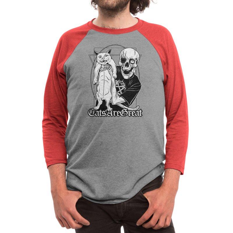 Cats are great Men's Longsleeve T-Shirt by von Kowen's Shop