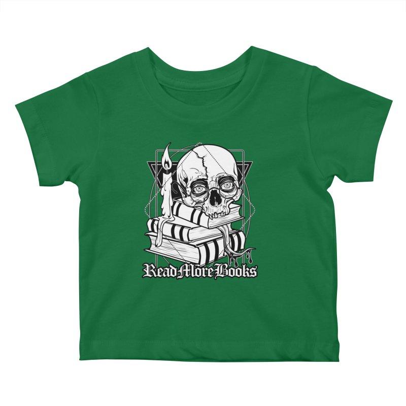 Read More Books Kids Baby T-Shirt by von Kowen's Shop