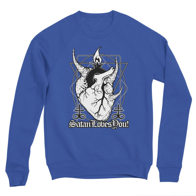 Baphoheart: Satan Loves You Men's Sweatshirt by von Kowen's Shop