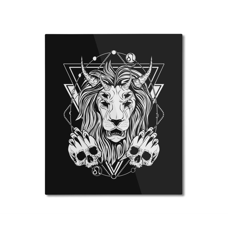 Zodiac: Leo Home Mounted Aluminum Print by von Kowen's Shop