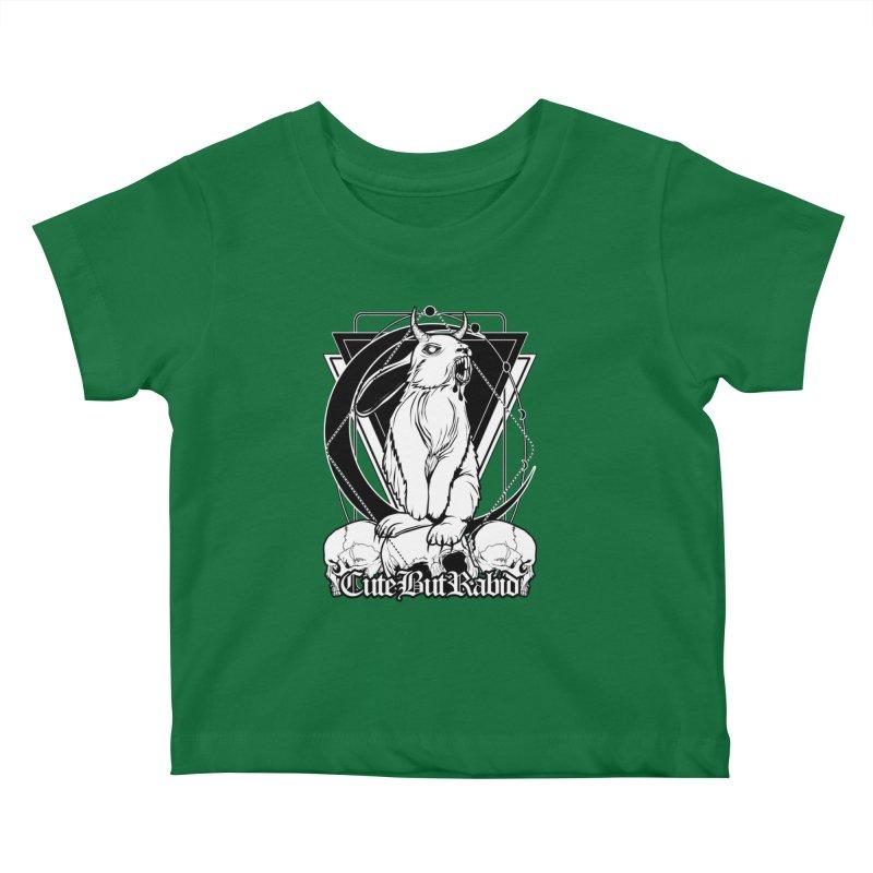 Cute But Rabid Kids Baby T-Shirt by von Kowen's Shop