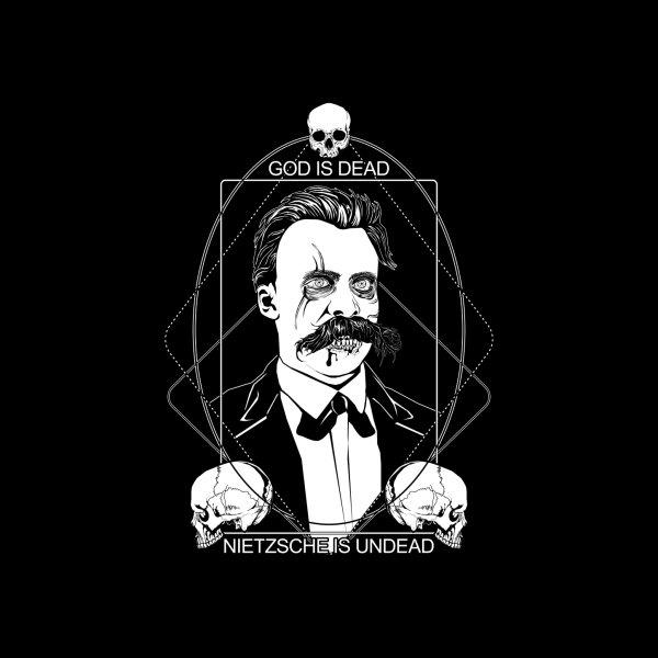 image for God is dead. Nietzsche is undead.