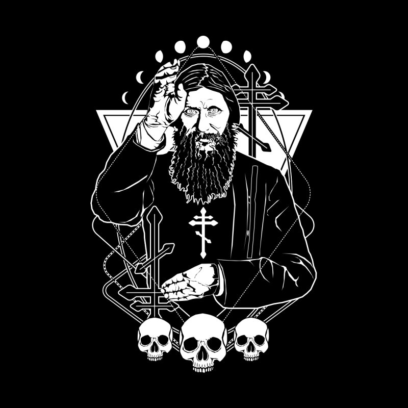 Grigori Yefimovich Rasputin - the Russian mystic by von Kowen's Shop