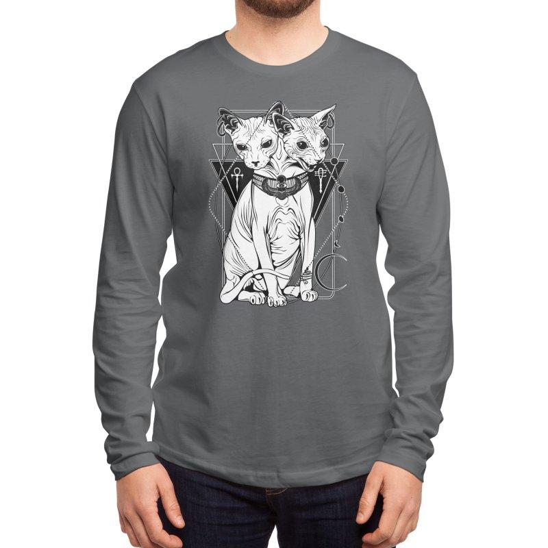 Bastet - the Cat Goddess Men's Longsleeve T-Shirt by von Kowen's Shop