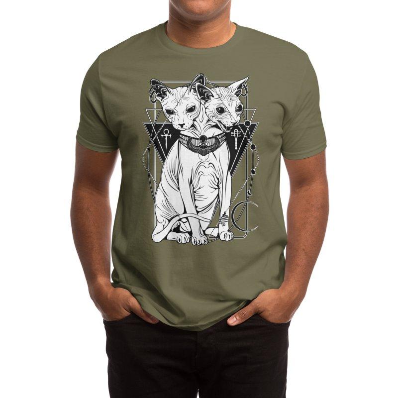 Bastet - the Cat Goddess Men's T-Shirt by von Kowen's Shop