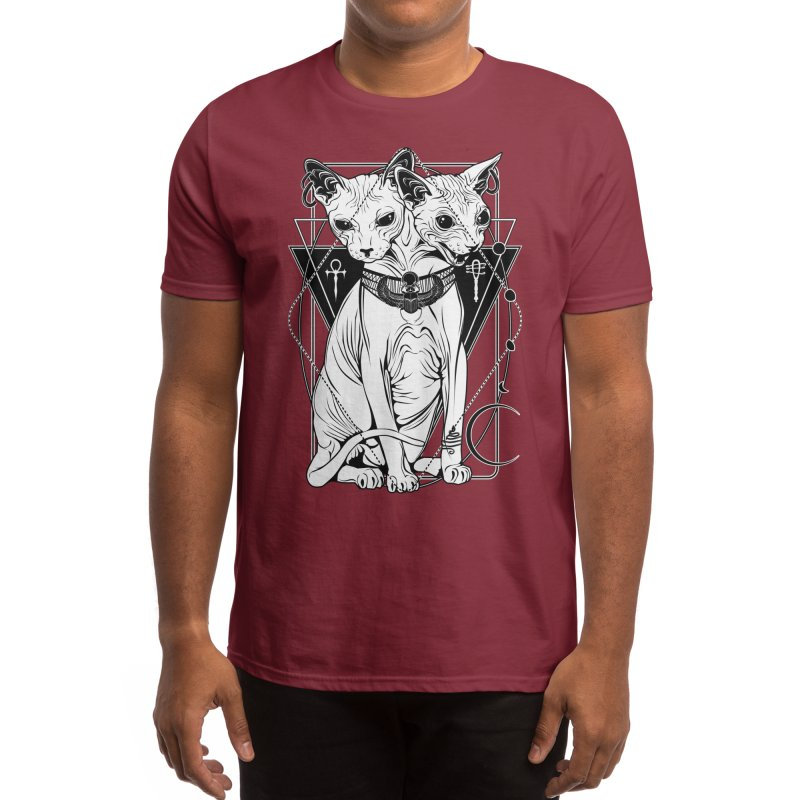 Bastet - the Cat Goddess Men's T-Shirt by von Kowen's Shop