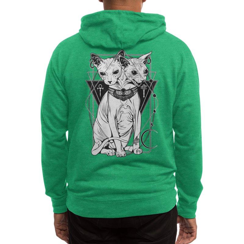 Bastet - the Cat Goddess Men's Zip-Up Hoody by von Kowen's Shop
