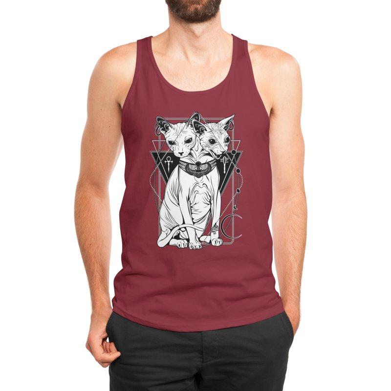Bastet - the Cat Goddess Men's Tank by von Kowen's Shop