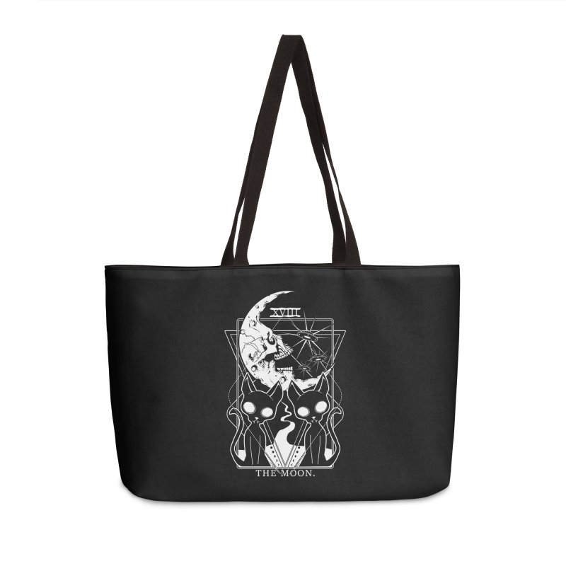 The Moon Tarot Card Accessories Weekender Bag Bag by von Kowen's Shop