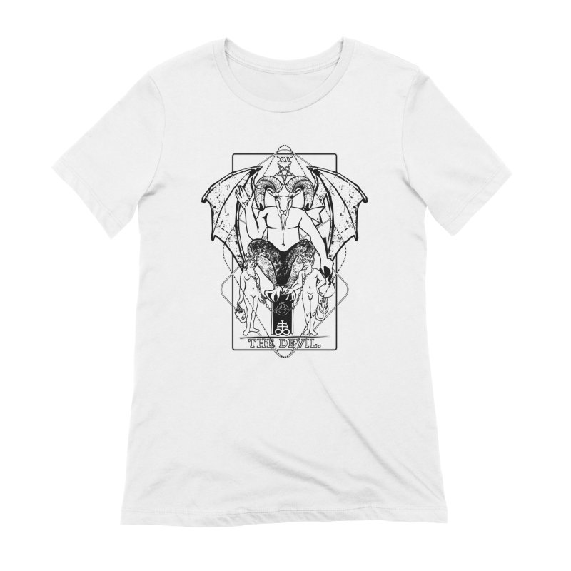 The Devil Women's Extra Soft T-Shirt by von Kowen's Shop