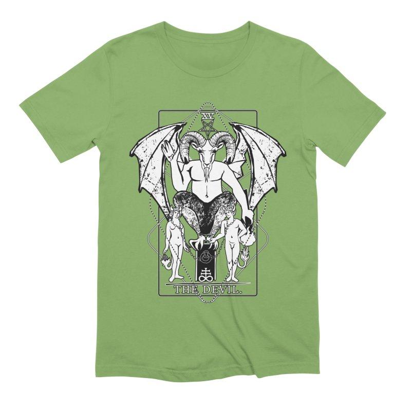 The Devil Men's Extra Soft T-Shirt by von Kowen's Shop