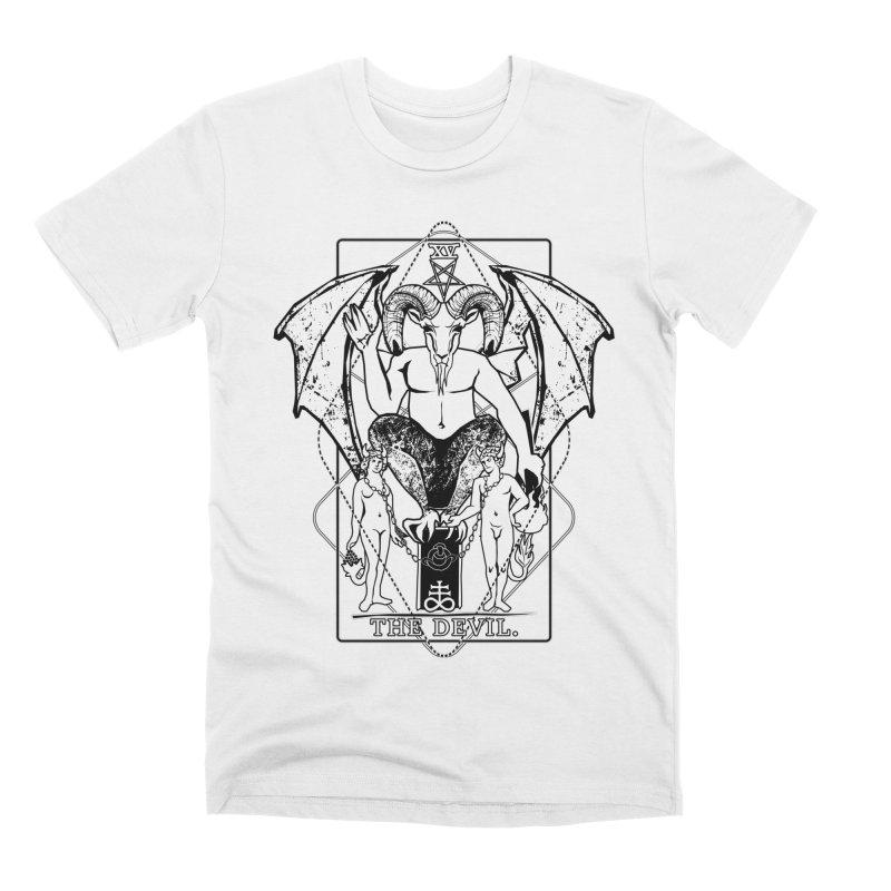 The Devil Men's Premium T-Shirt by von Kowen's Shop