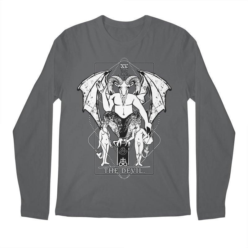 The Devil Men's Longsleeve T-Shirt by von Kowen's Shop
