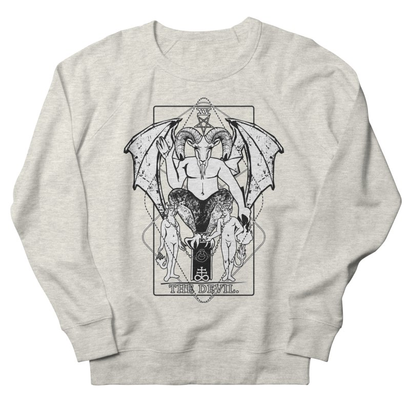 The Devil Men's French Terry Sweatshirt by von Kowen's Shop