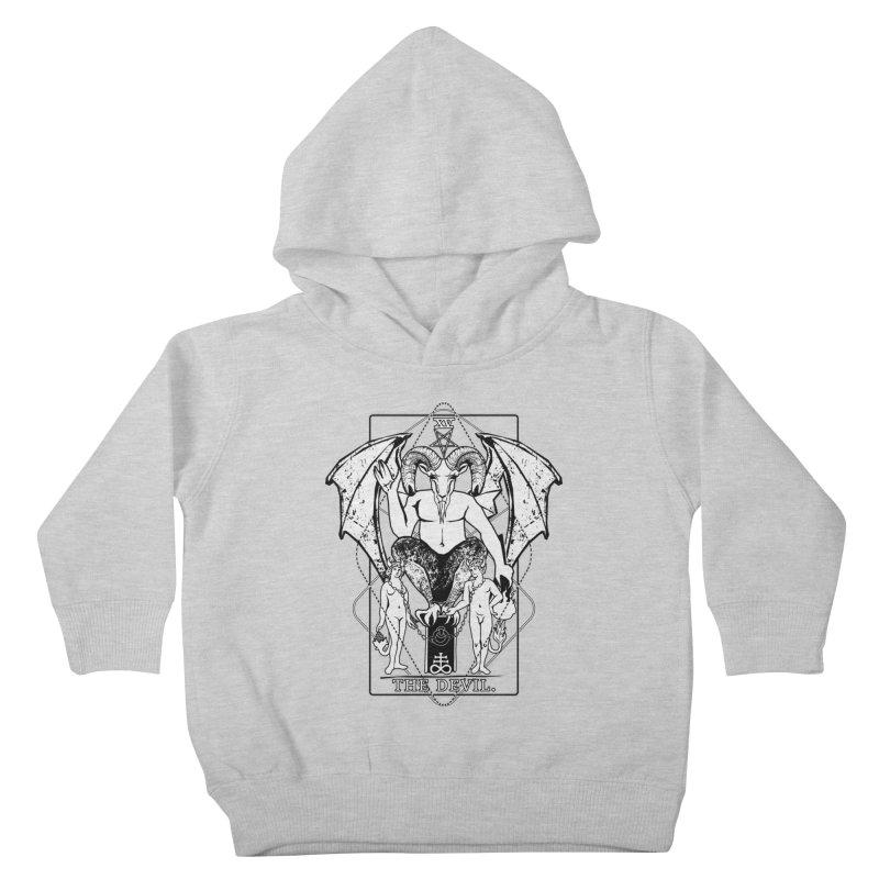 The Devil Kids Toddler Pullover Hoody by von Kowen's Shop