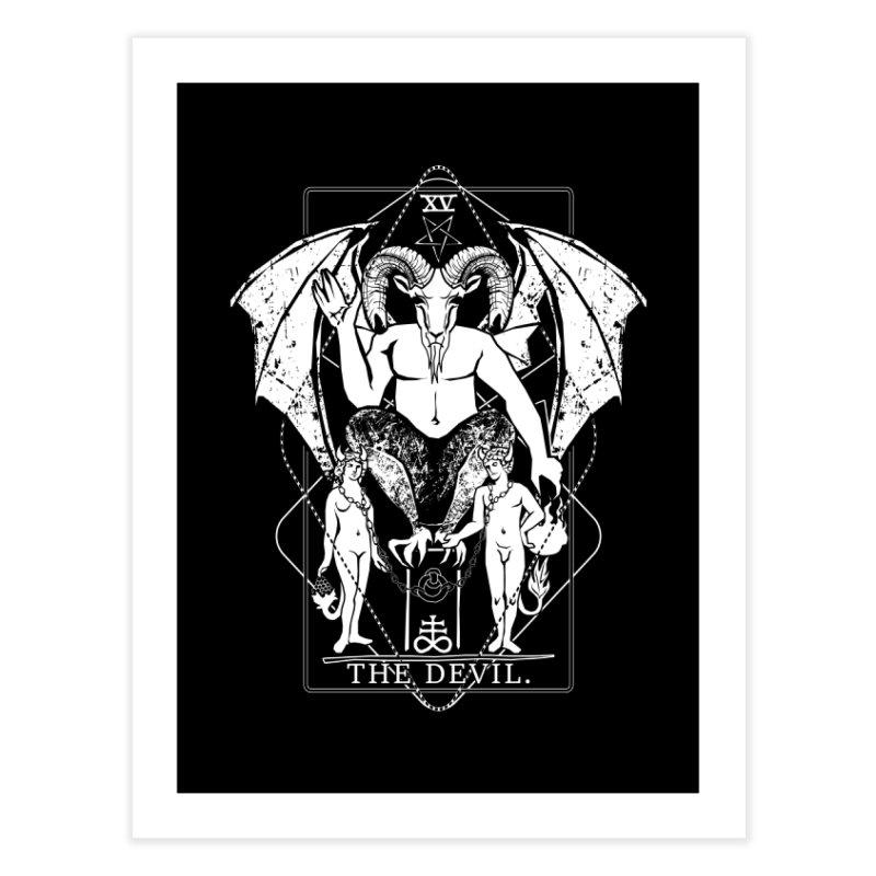 The Devil Home Fine Art Print by von Kowen's Shop