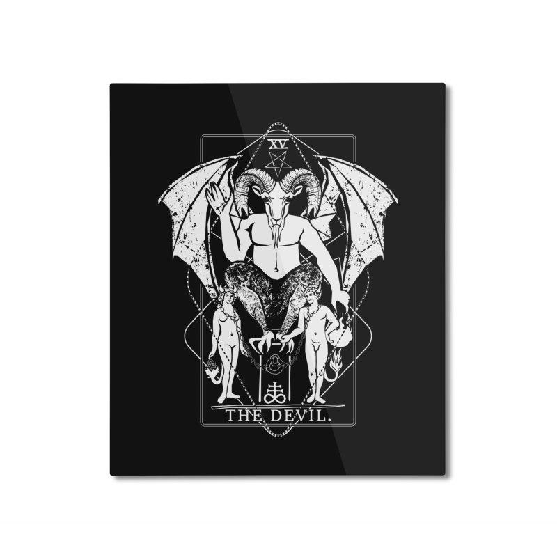 The Devil Home Mounted Aluminum Print by von Kowen's Shop