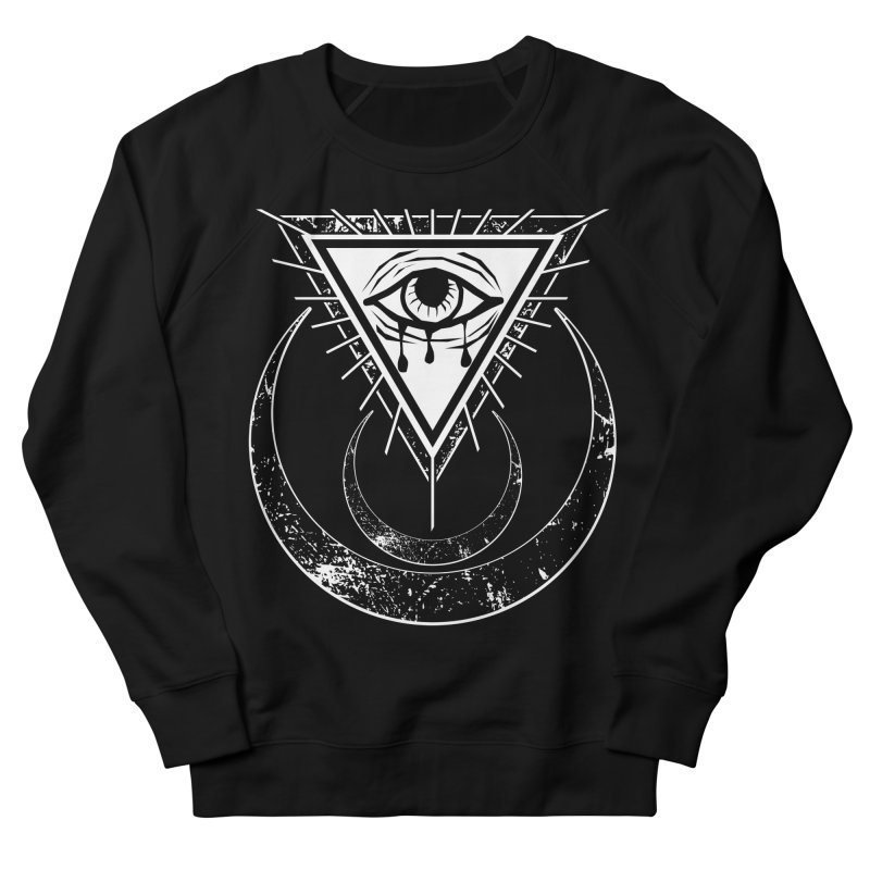 All Seeing Eye Men's French Terry Sweatshirt by von Kowen's Shop