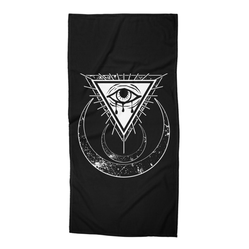 All Seeing Eye Accessories Beach Towel by von Kowen's Shop