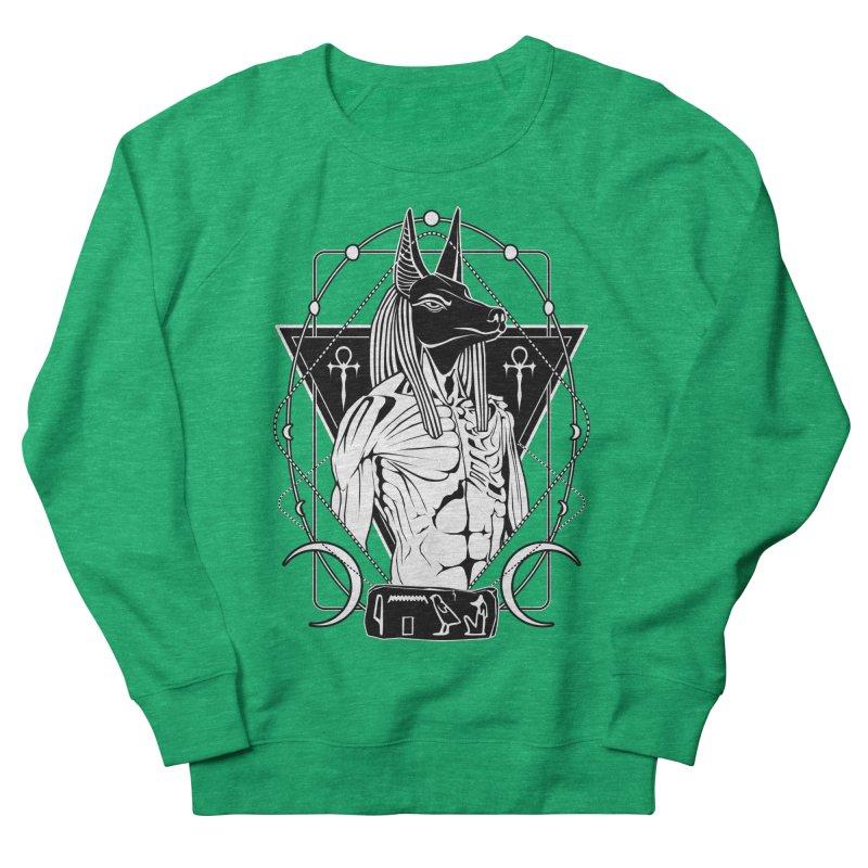 ANUBIS - God of afterlife and mummification Women's French Terry Sweatshirt by von Kowen's Shop