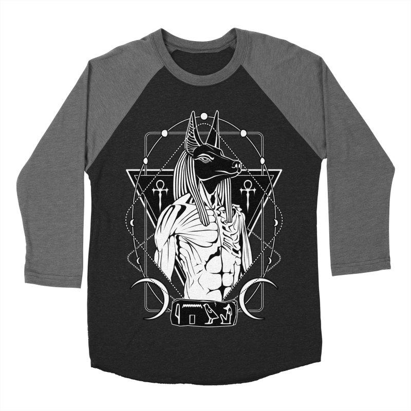 ANUBIS - God of afterlife and mummification Women's Baseball Triblend Longsleeve T-Shirt by von Kowen's Shop