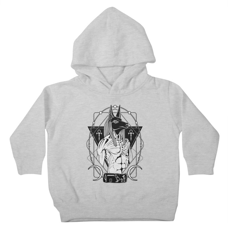 ANUBIS - God of afterlife and mummification Kids Toddler Pullover Hoody by von Kowen's Shop