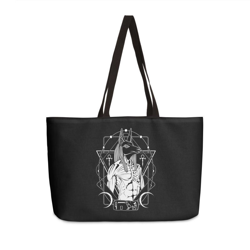 ANUBIS - God of afterlife and mummification Accessories Weekender Bag Bag by von Kowen's Shop