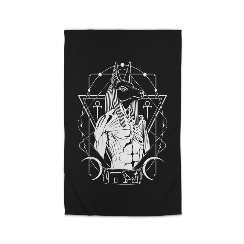 ANUBIS - God of afterlife and mummification Home Rug by von Kowen's Shop