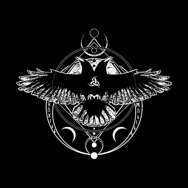 Huginn and Muninn / Hail Odin! by von Kowen's Shop