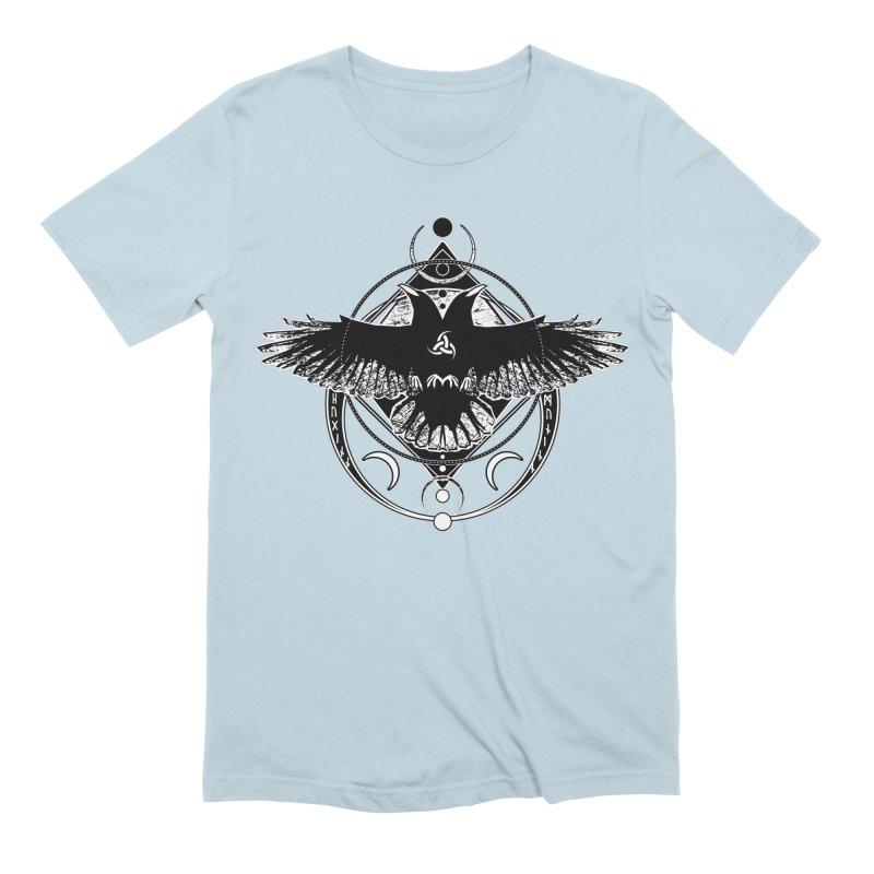 Huginn and Muninn / Hail Odin! Men's Extra Soft T-Shirt by von Kowen's Shop