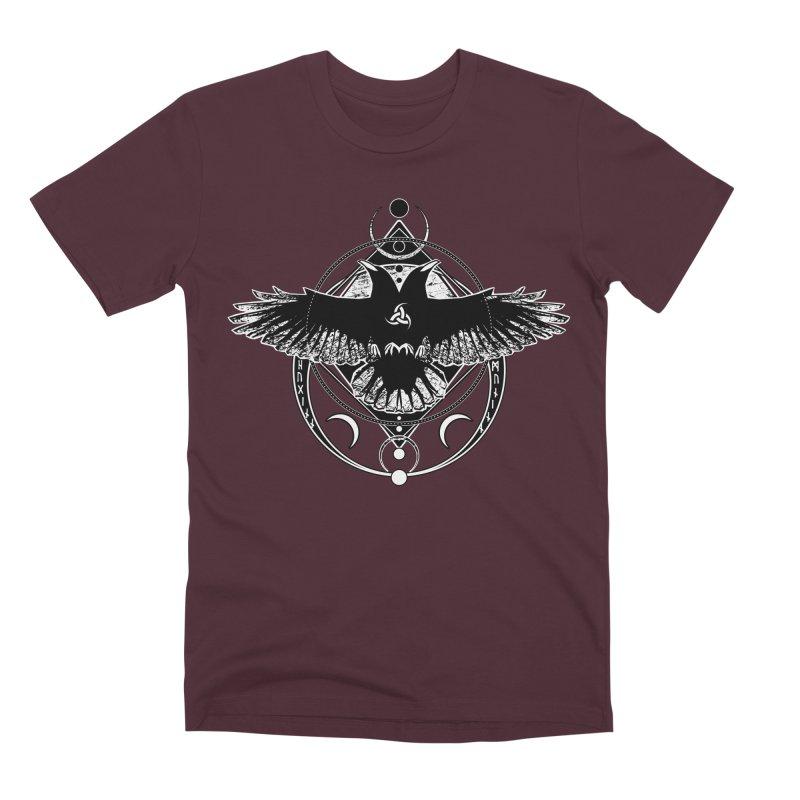 Huginn and Muninn / Hail Odin! Men's Premium T-Shirt by von Kowen's Shop