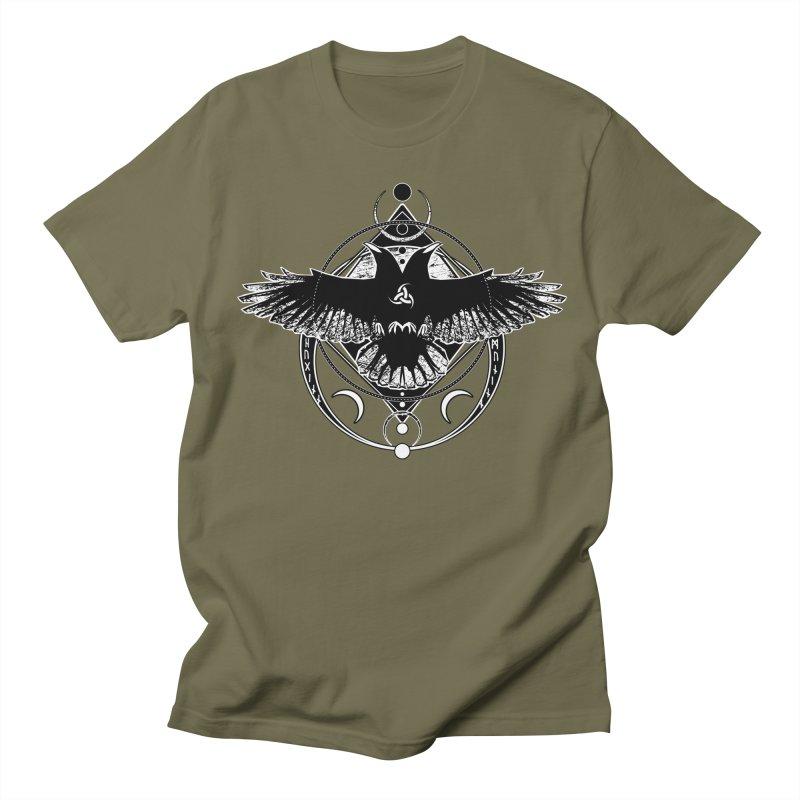 Huginn and Muninn / Hail Odin! Men's Regular T-Shirt by von Kowen's Shop