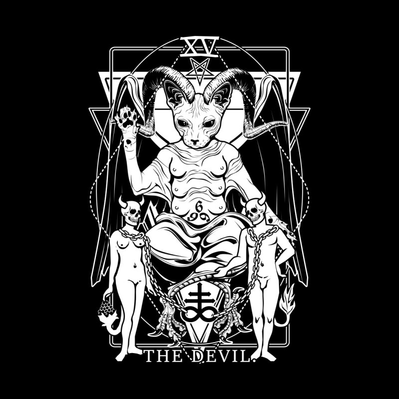 The Devil Tarot Card by von Kowen's Shop