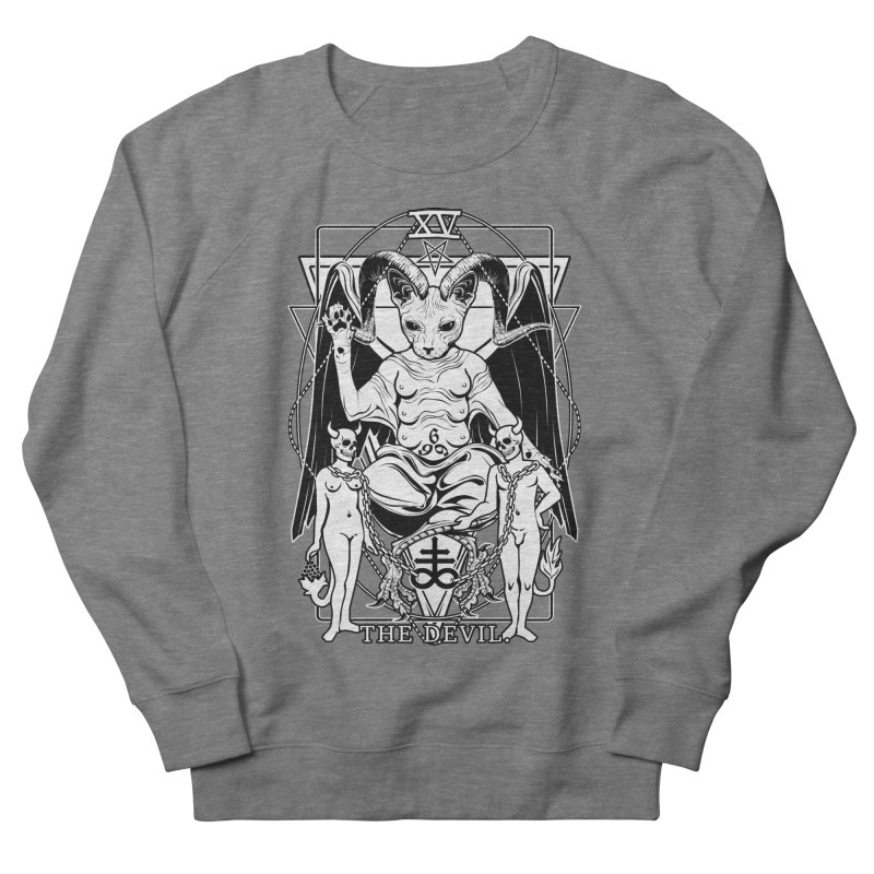 The Devil Tarot Card Women's French Terry Sweatshirt by von Kowen's Shop