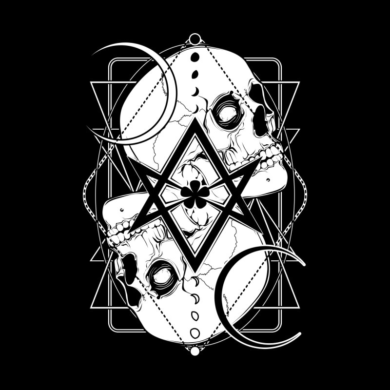 THELEMA: Do what thou wilt / Crowley's unicursal hexagram by von Kowen's Shop