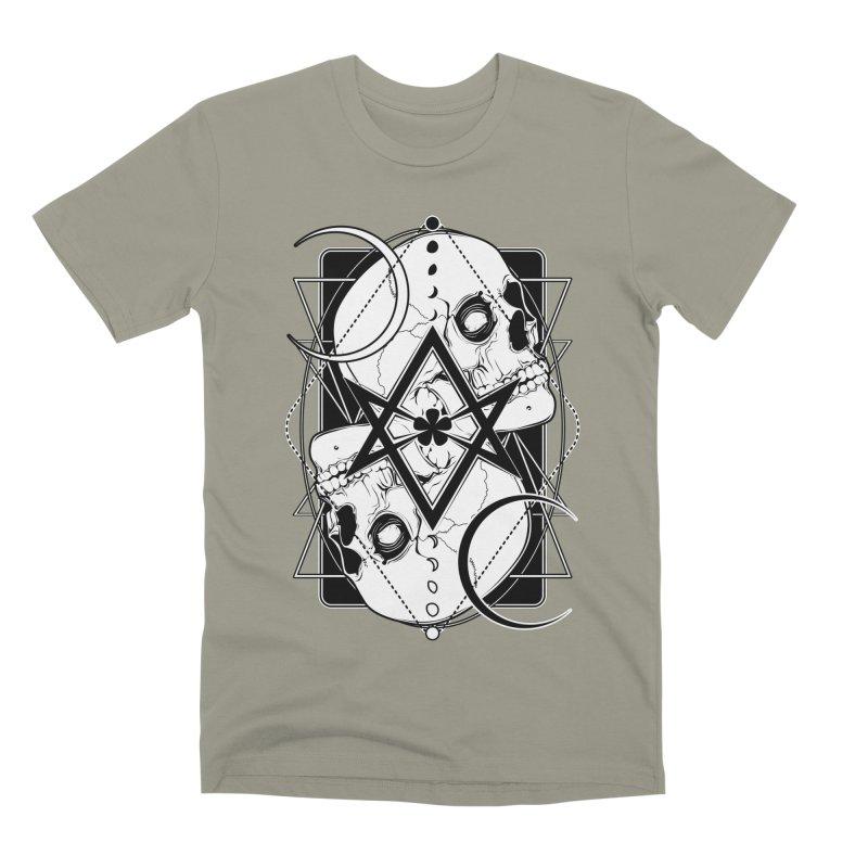 THELEMA: Do what thou wilt / Crowley's unicursal hexagram Men's Premium T-Shirt by von Kowen's Shop