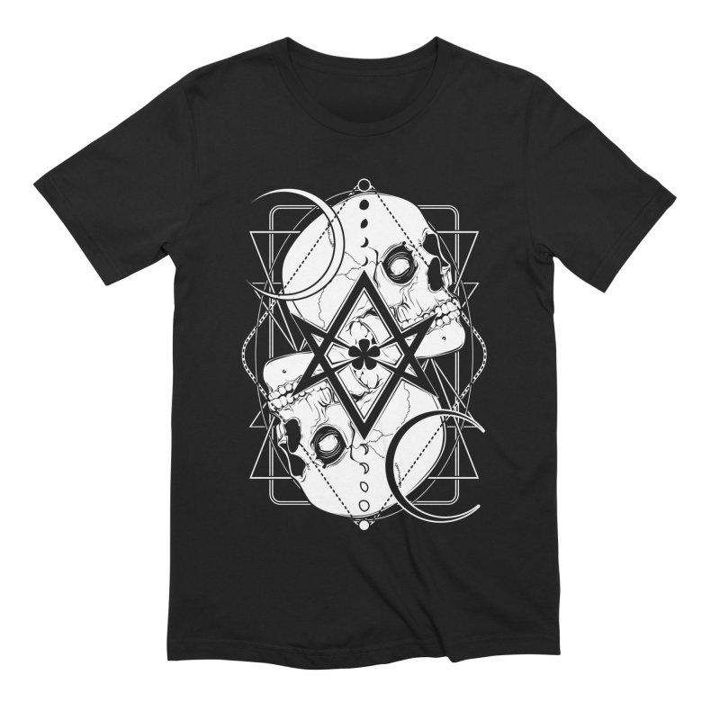 THELEMA: Do what thou wilt / Crowley's unicursal hexagram Men's Extra Soft T-Shirt by von Kowen's Shop