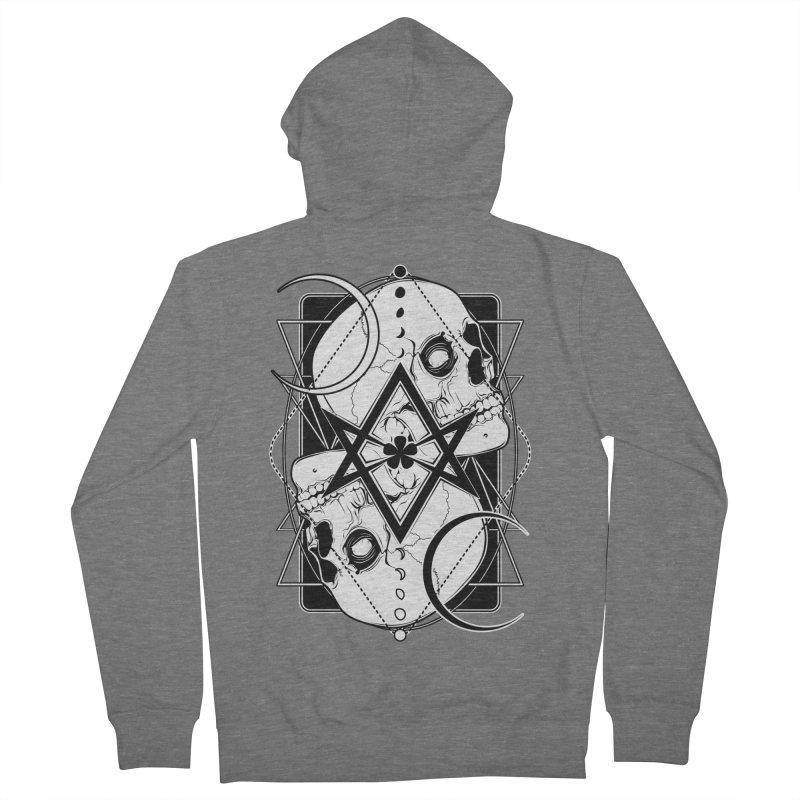 THELEMA: Do what thou wilt / Crowley's unicursal hexagram Men's French Terry Zip-Up Hoody by von Kowen's Shop