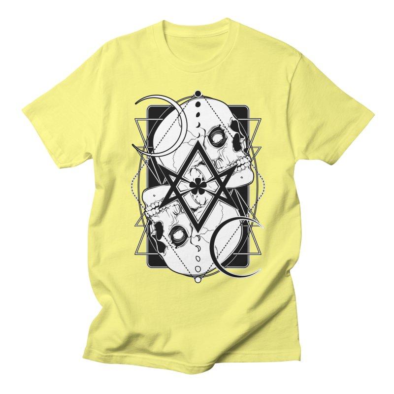 THELEMA: Do what thou wilt / Crowley's unicursal hexagram Men's Regular T-Shirt by von Kowen's Shop
