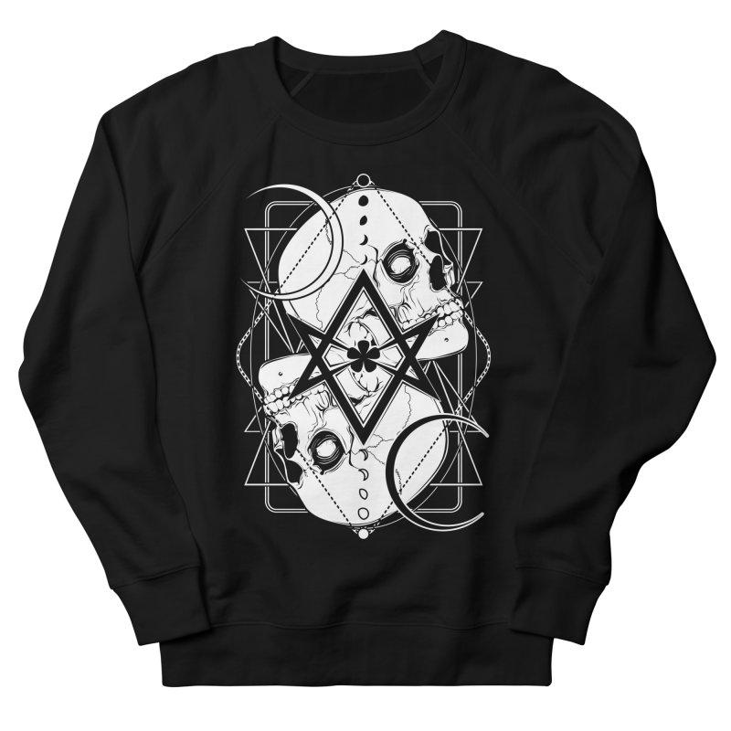 THELEMA: Do what thou wilt / Crowley's unicursal hexagram Women's French Terry Sweatshirt by von Kowen's Shop
