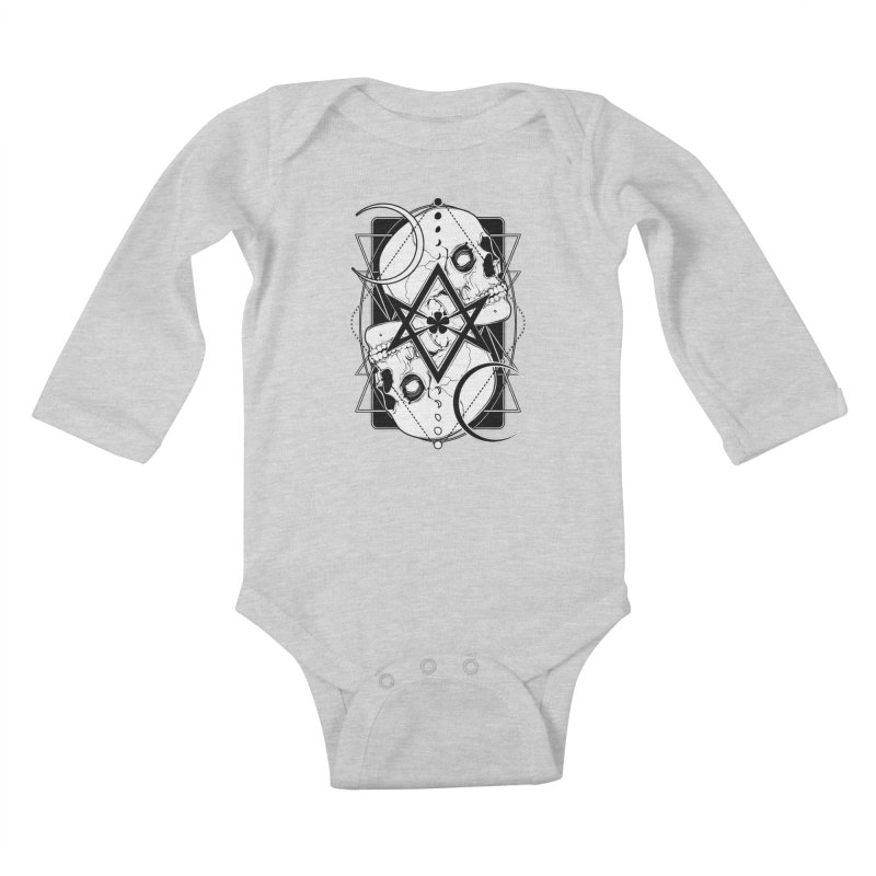 THELEMA: Do what thou wilt / Crowley's unicursal hexagram Kids Baby Longsleeve Bodysuit by von Kowen's Shop