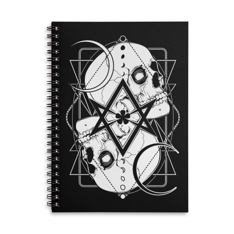 THELEMA: Do what thou wilt / Crowley's unicursal hexagram Accessories Lined Spiral Notebook by von Kowen's Shop