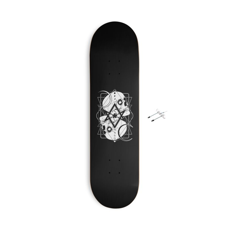 THELEMA: Do what thou wilt / Crowley's unicursal hexagram Accessories With Hanging Hardware Skateboard by von Kowen's Shop