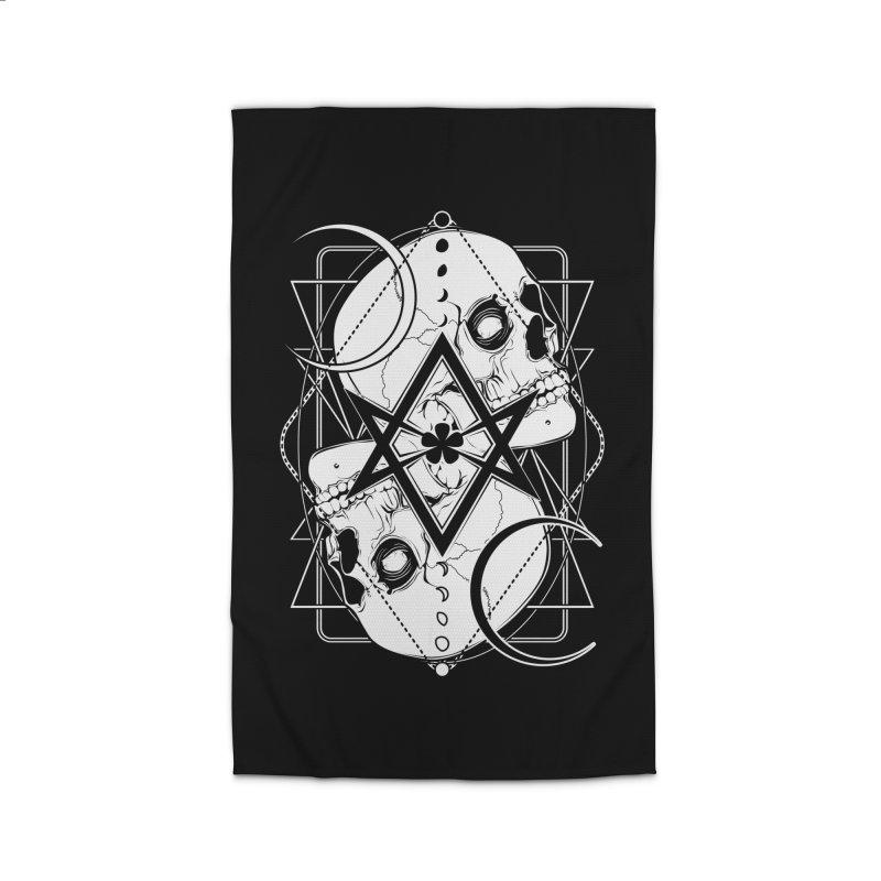 THELEMA: Do what thou wilt / Crowley's unicursal hexagram Home Rug by von Kowen's Shop
