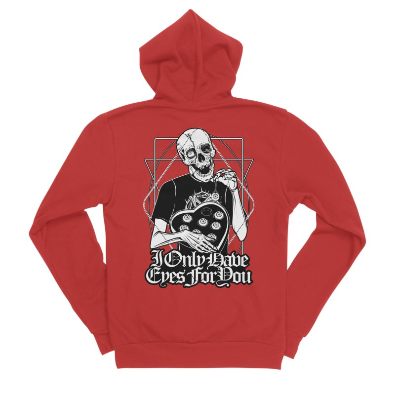 I Only Have Eyes For You Men's Zip-Up Hoody by von Kowen's Shop