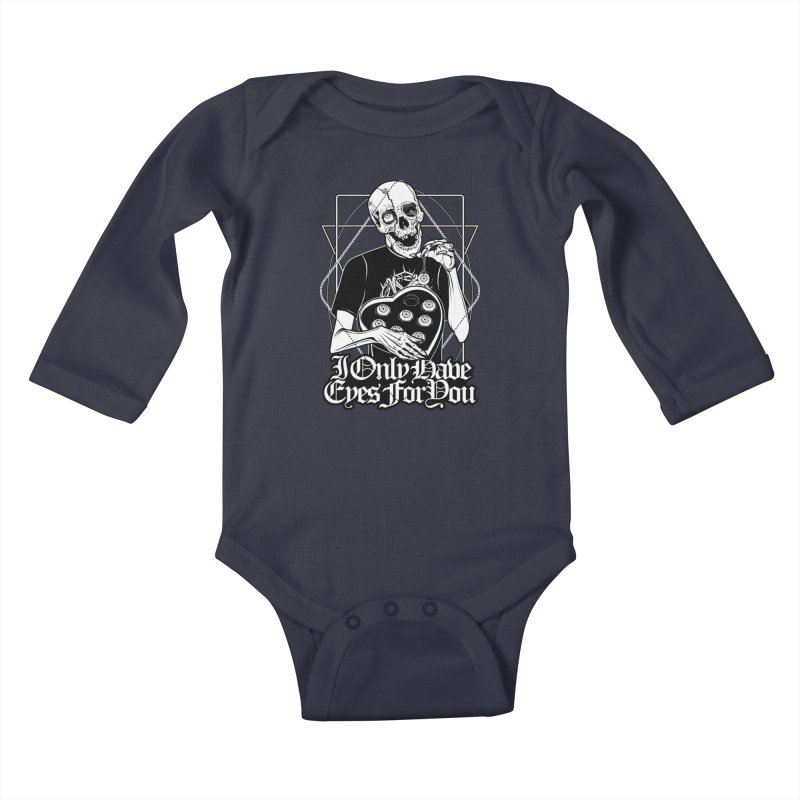 I Only Have Eyes For You Kids Baby Longsleeve Bodysuit by von Kowen's Shop