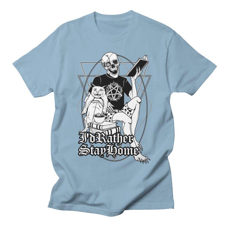 I'd rather stay home Women's Regular Unisex T-Shirt by von Kowen's Shop